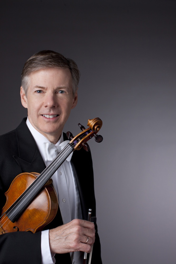 Blair Milton, Ovation Press editor and Professor of Violin at Northwestern University