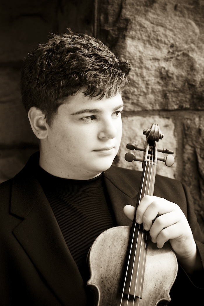 Chad Hoopes, Violin Prodigy