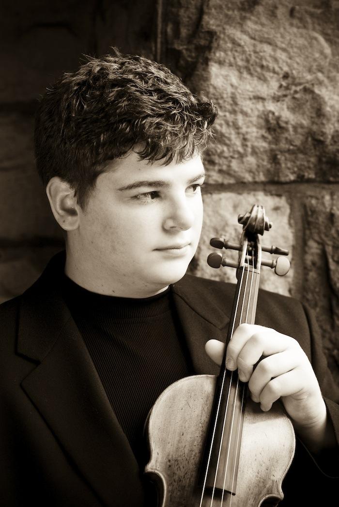 Chad Hoopes, Violin Prodigy