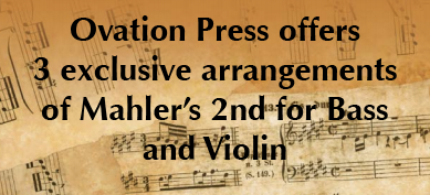 Ovation Press Mahler Scores