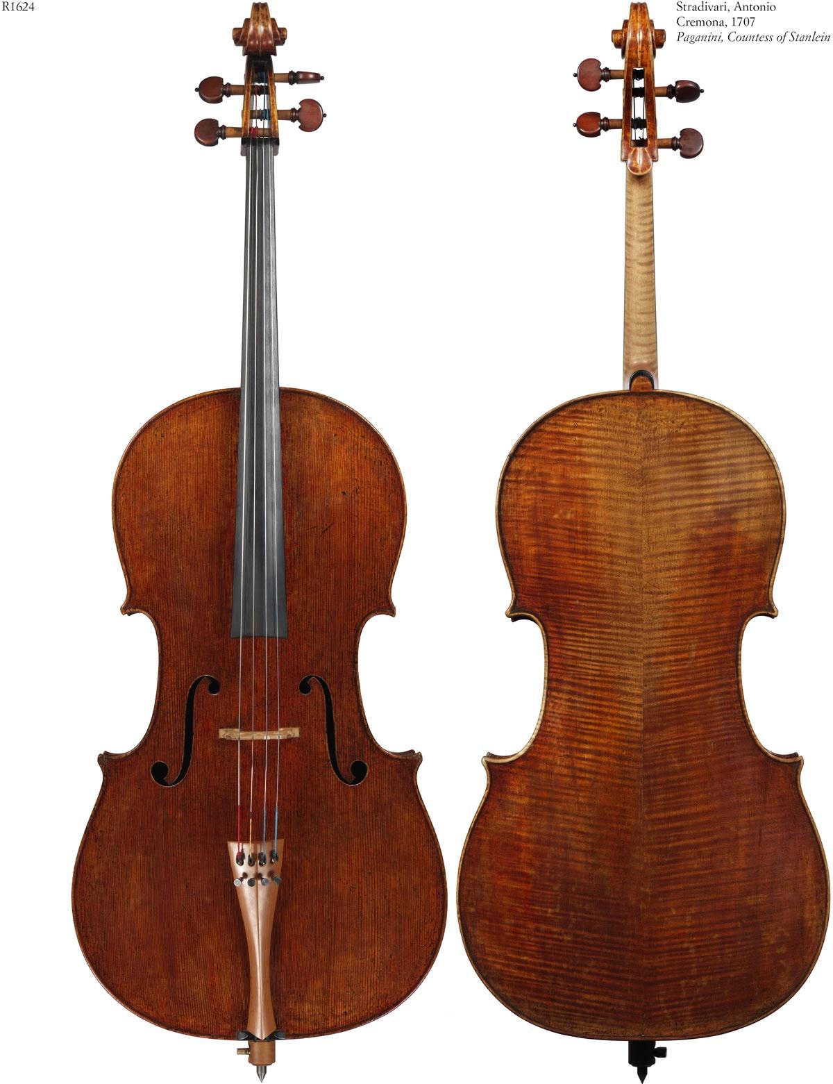 Stradivarius cello will be