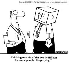 Image of &quot;Thinking out of the Box&quot;