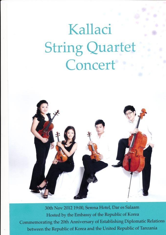Kallaci String Quartet Performance in Tanzania