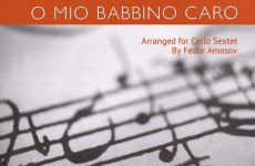 O Mio Babbino Caro for Cello Sextet