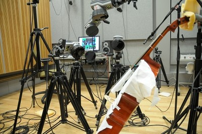Optical Motion Capture Cello