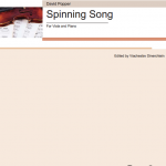 Popper Spinning Song
