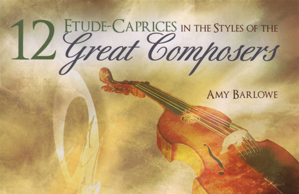 Amy Barlowe's 12 Etude-Caprices for Viola