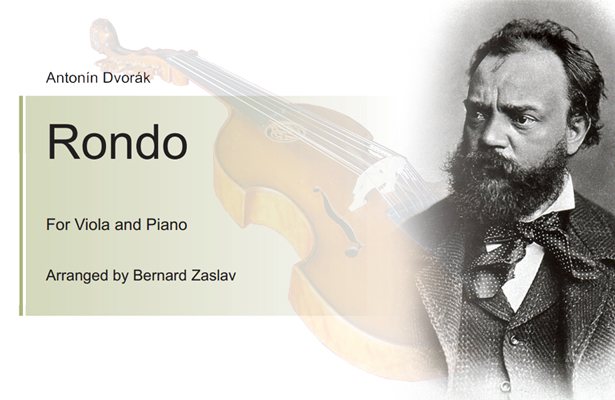 Bernard Zaslav arranges Dvořák's Rondo in G Minor for Viola