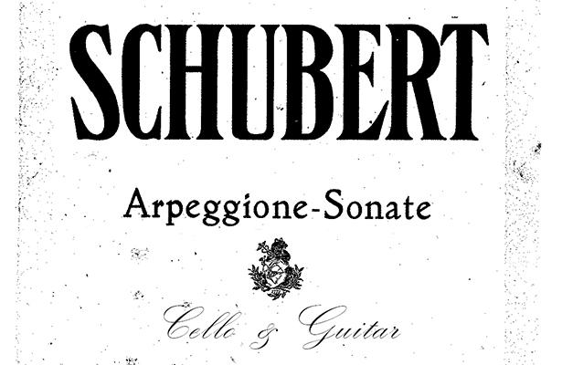Schubert Arpeggione Sonata