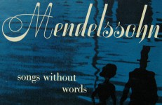 Mendelssohn Song Without Words
