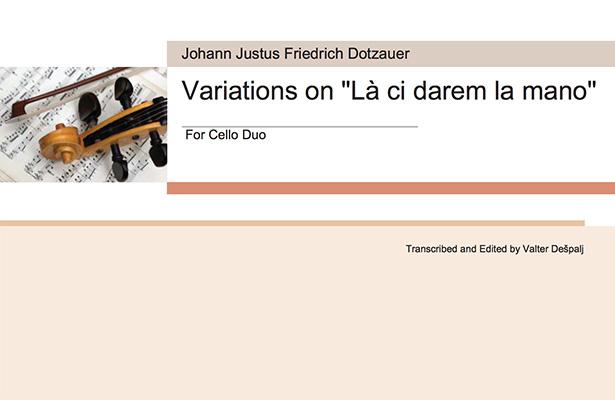 Dotzauer Variations