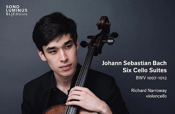 Richard Narroway and his Bach Six Cello Suites Recording